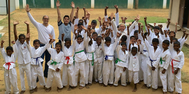 givelight children orphans sri lanka dian alyan karate