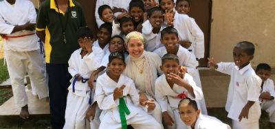 givelight children orphans sri-lanka dian alyan karate
